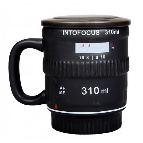 Intofocus Ceramic Camera Lens Shaped Ceramic Coffee Mug