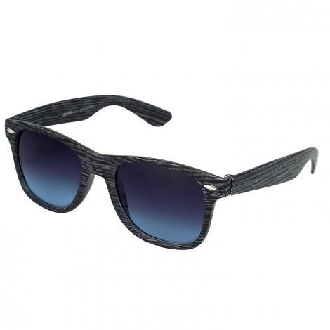 Wooden Finish Grey Wayfarer Sunglasses