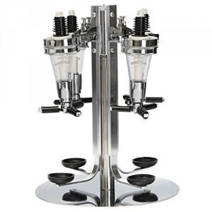 Wine Dispenser Bar Butler4 Bottle Revolving Wine Dispenser