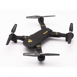 TIANQU VISUO Foldable RC Quadcopter - RTF - Black 0.3MP Camera + Air Press