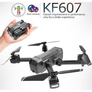 KF607 Quadcopter Optical Flow Pressure Altitude Hold - Black 1080P Camera