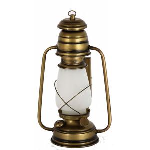 Lantern Wall Mount, Vintage style. (Antique Brass Finish)