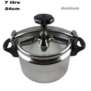 Explosion Proof  Aluminium Pressure Cooker Cooking Pot 7 LITRE 24cm