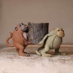 Mini Stump Tailed Monkey